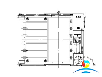 Marine Hydraulic Watertight Sliding Door With Hydraulic Operating System