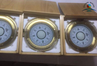 Emergency Magnetic Compass In Wooden Box