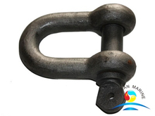 Heavy Duty Marine Hardware Rigging Lifting Shackle With Captive Bolt