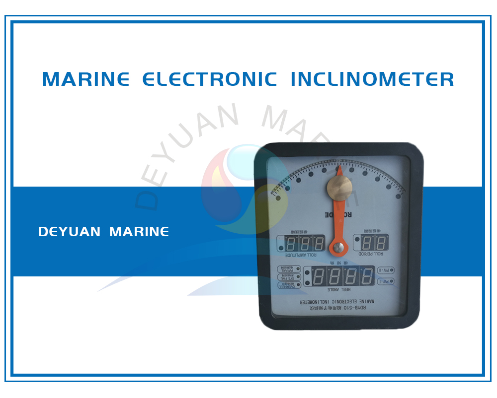 Marine Electronic Inclinometer Installed in Wheelhouse