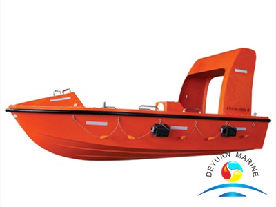 SOLAS Standard Marine FRP Rescue Boat With Good Price For Sales