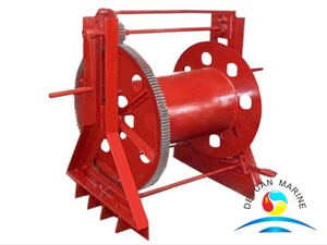 Heavy Duty Marine Vessel Power Steel Rope Reel Holder for Sale