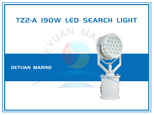 190W LED Search Light TZ2-A Stainless Steel