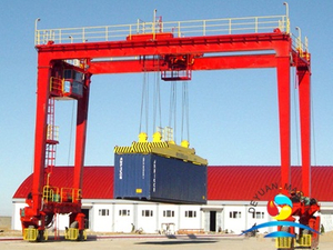 Rubber Tyred Gantry Ship to Shore Container Loading Crane