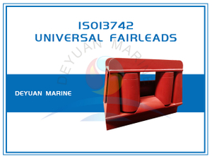ISO13742 Universal Fairleads Without Upper Roller