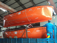 Marine Safety SOLAS Open Type Lifeboat With Good Price