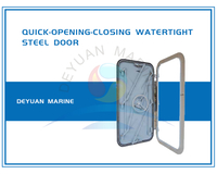 Quick-Opening-Closing Watertight Steel Door/Marine Watertight Door