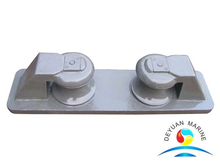 CB/T38-99 Marine Open Type Ship Mooring Fairlead Chock Type B