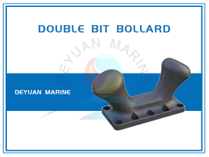 Dockside Bollard Double Bitt Bollard for Ports And Harbors