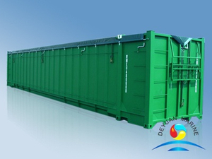 48' Open Top Waste Container (Soft Roof)