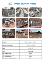 Latest Delivery of Marine Mooring Equipments