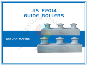 JIS F2014 Three Roller Fairlead In Group Open Type