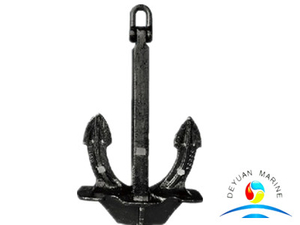 Cast Steel Marine Japan Stockless Union JIS Anchor For Ship