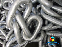 RQ3s Grade Open Link Mooring Anchor Chain with BKI Certificate
