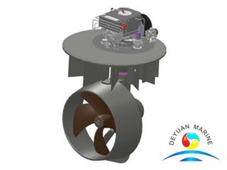 3000KW Electric Drive L-Drive Azimuth Ship Thruster
