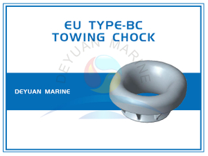 Bulwark Mounted EU Type Panama Towing Chock for Ships