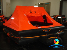 YT Type 6 Man Throw Over Board Yacht Inflatable Liferaft