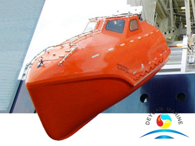 DNV-OS-E406 Marine Totally Enclosed Free Fall Lifeboat With SOLAS Approved