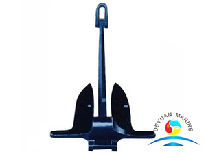 Marine Casting Steel Baldt Type Snug Stowing Anchor For Vessel