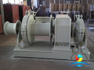 Approved Combined Single Drum Single Gypsy Anchor Windlass And Winch