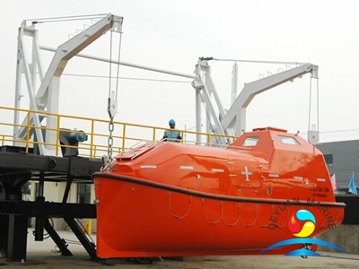 Marine ABS Approval Crane Professional Gravity Luffing Arm Type Davit