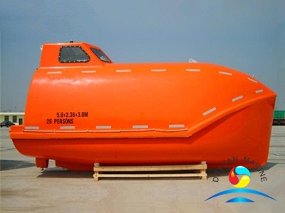 Cheap Cargo Version Marine Totally Enclosed Free Fall Lifeboat