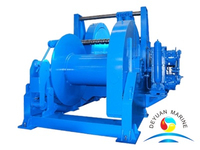 100KN Electric Towing Winch With Single Drum For Boat/Ship