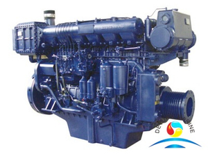 R6160 Or X170 Series Ship Marine Diesel Engine Of Weichai