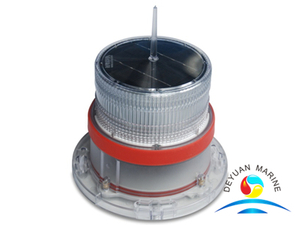 Red Solar LED Marine Navigation Light Flashing Solar Light