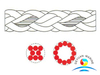 High Strength Polyester Mooring Rope Abrasion Resistant Marine Rope