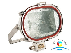Marine Tungsten Halogen Lamp TG11 Flood light IP67 on ship