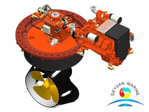 BV Approval Marine Z-Drive Azimuth Thruster For Propulsion System