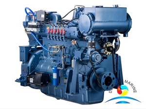 WP12C350NG Series Water Cooling Weichai Marine Gas Engine
