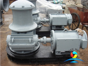 Light Duty Marine Vertical Type Capstan Rope Winch For Boat