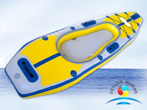 New PVC Inflatable Fishing Ocean Kayak With Good Price