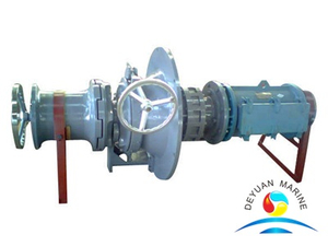 Ship 17KN Vertical type Electric Driven Mooring Capstan