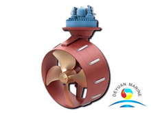 Engine Driven Underwater Mountable Azimuthing Thruster for Large Vessels