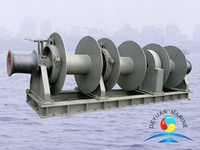 Three Drum Hydraulic Marine Combined Mooring Winch