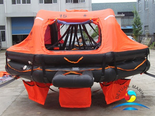 SOLAS Standard ADL Type 15 Person Davit-launched Inflatable Life Raft