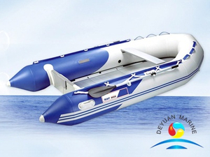 Rib Inflatable Sport Boats PVC Or Rubber Material With Air Pump
