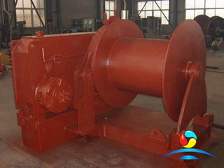 One Drum Marine Hydraulic Winch With Class Approved certificates