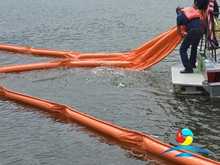 WGV1000 Solid Floating PVC Oil Containment Boom