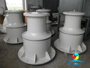 Boat Small Size Vertical Hydraulic Tugger Capstan 300KN With CCS