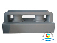 Mooring JIS F 2014-87 Closed Type Two-roller Fairlead With Stand