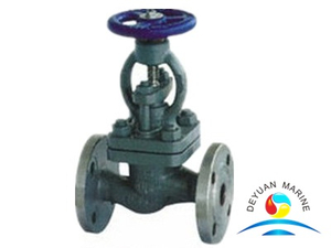 Marine Cast Steel Flanged Sea Water Globe Valves