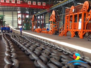 Grade 3 Marine Studless Open Link Anchor Chain For Ship