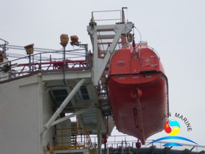 Marine Offshore SOLAS Platform Type Lifeboat Launching Appliance Boat Davit