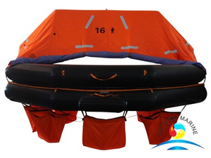 ATOB Type 16 Person Throw-overboard Inflatable Life Raft