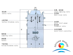 LSK-type Vertical Oil-fired Boiler