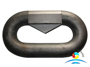 Forged Galvanized Mounting Link Ring Alloy Steel Material